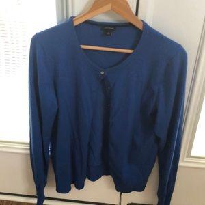 Ann Taylor button up sweater